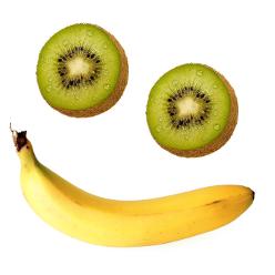 Obst auf Reisen